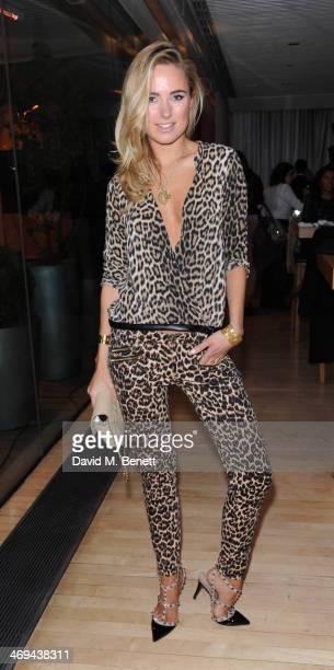 Kimberley Garner attends the PPQ after show party at London Fashion Week AW14 at Sanderson Hotel on February 14 2014 in London England