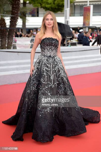 """Kimberley Garner attends the screening of """"It Must Be Heaven"""" during the 72nd annual Cannes Film Festival on May 24, 2019 in Cannes, France."""