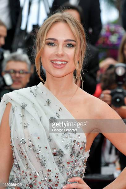 Kimberley Garner attends the screening of Le Belle Epoque during the 72nd annual Cannes Film Festival on May 20 2019 in Cannes France