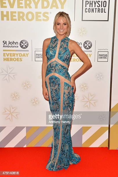 Kimberley Garner attends the St John Ambulance's Everyday Heroes Awards a starstudded celebration of the nation's life savers at Lancaster London...