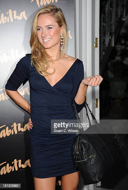 Kimberley Garner attends the Tabitha new collection launch party at No 5 Cavendish Square on September 5 2012 in London England