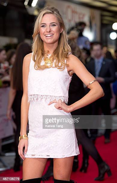 Kimberley Garner attends the UK Gala premiere of 'The Other Woman' held at The Curzon Mayfair on April 2 2014 in London England