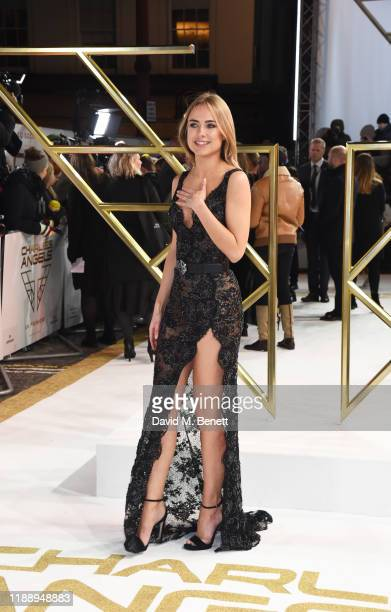 Kimberley Garner attends the UK Premiere of Charlie's Angels at The Curzon Mayfair on November 20 2019 in London England