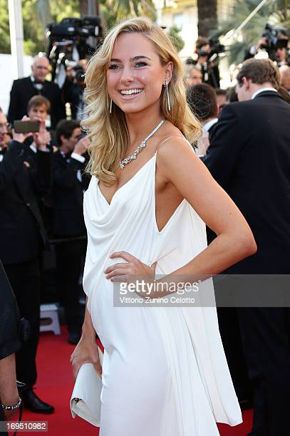 Kimberley Garner attends the 'Zulu' Premiere and Closing Ceremony during the 66th Annual Cannes Film Festival at the Palais des Festivals on May 26...