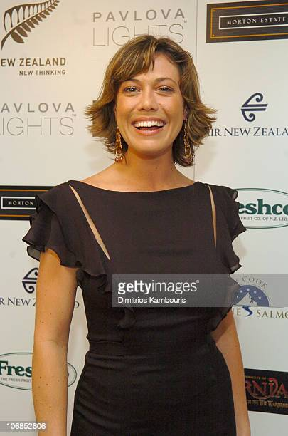 Kimberley Joseph wearing Saja during Fourth Annual Celebration of New Zealand Filmmaking and Creative Talent Pre Oscar Dinner at The Beverly Hills...
