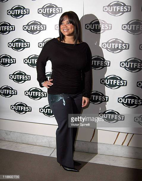 Kimberley Locke during Outfest 2004 Holiday Celebration at Hammer Museum in Westwood California United States
