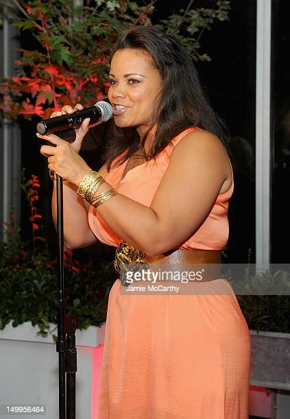 Kimberley Locke performs at the GLAAD Manhattan Summer Event at Humphrey at the Eventi Hotel on August 7 2012 in New York City