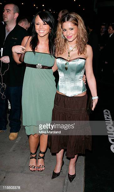 Kimberley Walsh and Cheryl Tweedy from Girls Aloud