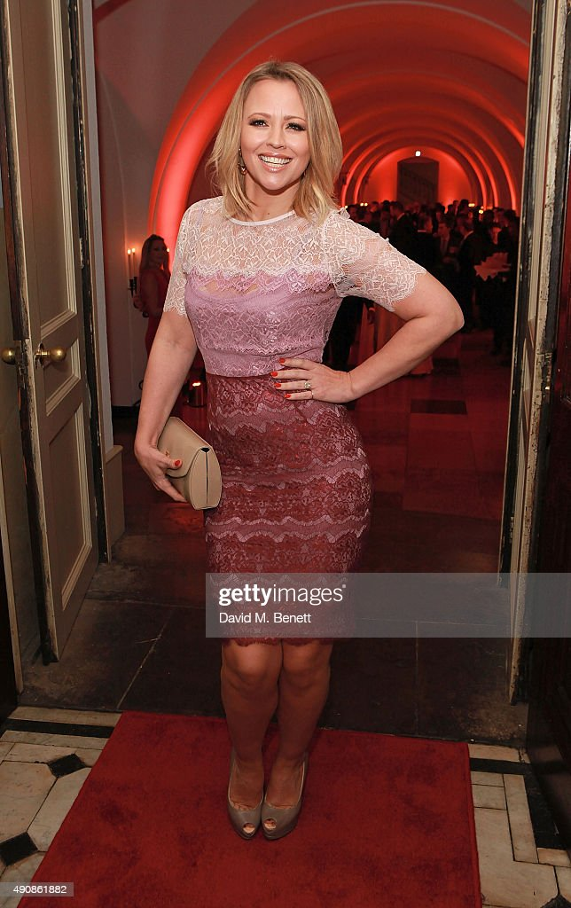 Kimberley Walsh attends a fundraising event in aid of the Nepal Youth Foundation hosted by David Walliams at Banqueting House on October 1, 2015 in London, England.