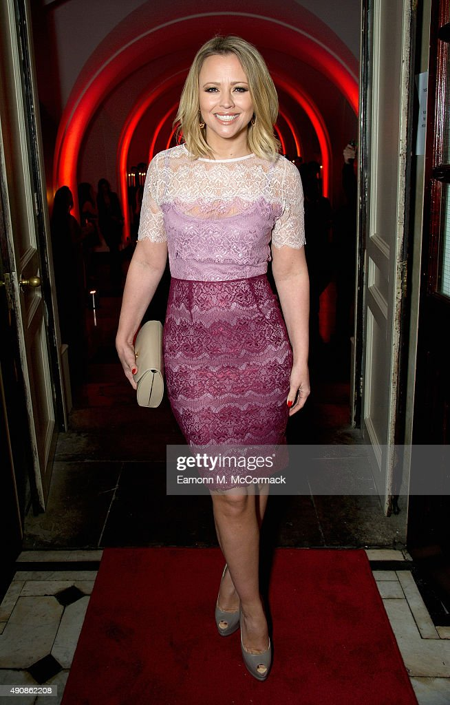 Kimberley Walsh attends a fundraising event in aid of the Nepal Youth Foundation at Banqueting House on October 1, 2015 in London, England.