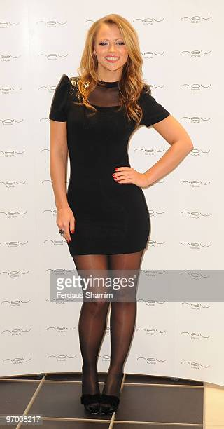 Kimberley Walsh attends photocall to officially open New Look's flagship store on Oxford Street on February 5 2010 in London England