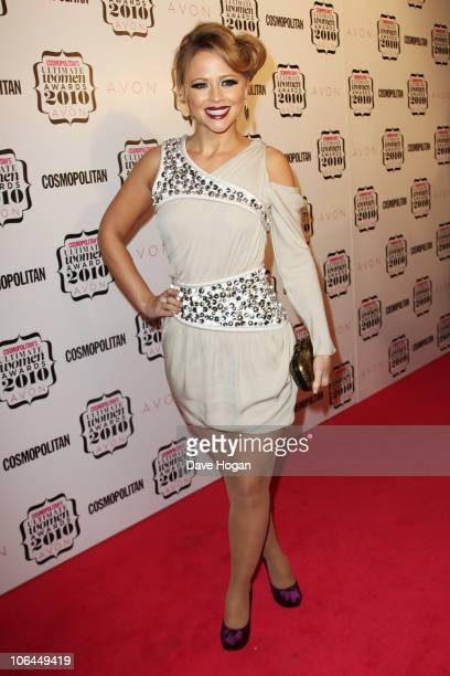 Kimberley Walsh attends the Cosmopolitan Ultimate Women of the Year awards 2010 held at Banqueting House on November 2 2010 in London England