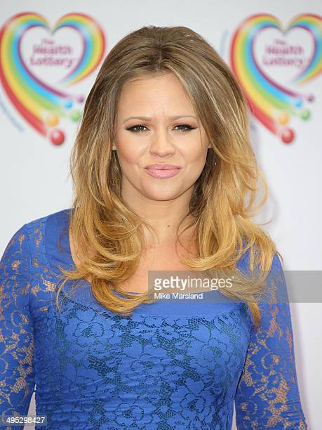 Kimberley Walsh attends the Health Lottery tea party at The Savoy Hotel on June 2 2014 in London England
