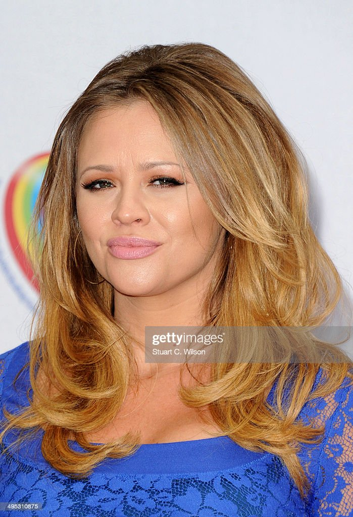 Kimberley Walsh attends the Health Lottery tea party at The Savoy Hotel on June 2, 2014 in London, England.