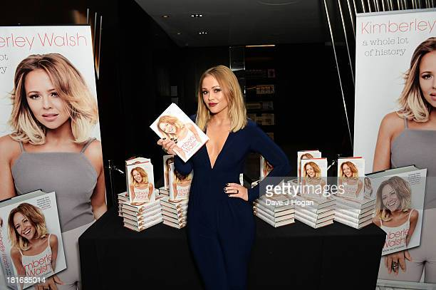 Kimberley Walsh attends the launch party for her new book 'A Whole Lot Of History' at Hotel ME on September 23 2013 in London England