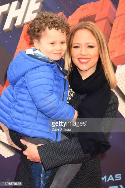 Kimberley Walsh attends the multimedia screening of The Lego Movie 2 The Second Part at Cineworld Leicester Square on February 02 2019 in London...