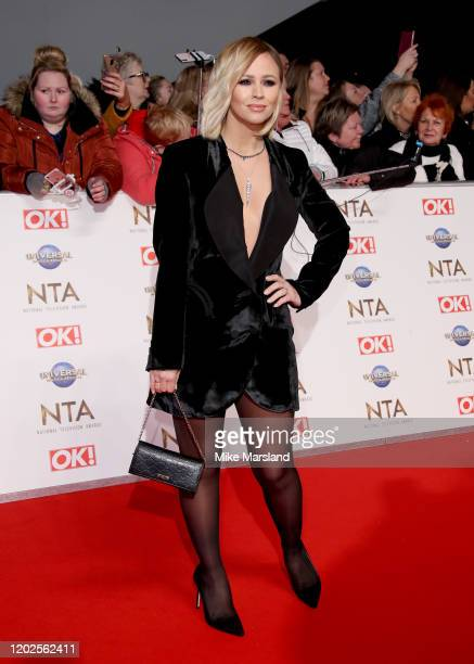 Kimberley Walsh attends the National Television Awards 2020 at The O2 Arena on January 28, 2020 in London, England.