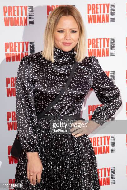 Kimberley Walsh attends the press night performance of ''Pretty Woman'' at the Piccadilly Theatre on March 2, 2020 in London, England.