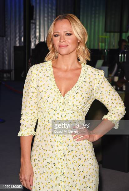 """Kimberley Walsh attends the press night performance of """"Sleepless: The Musical"""" at the Troubadour Wembley Park Theatre on September 01, 2020 in..."""