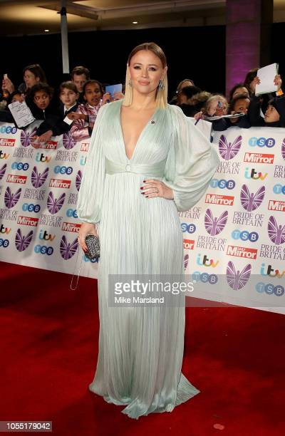 Kimberley Walsh attends the Pride of Britain Awards 2018 at The Grosvenor House Hotel on October 29 2018 in London England