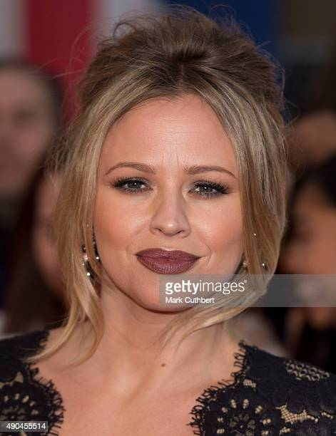 Kimberley Walsh attends the Pride of Britain awards at The Grosvenor House Hotel on September 28 2015 in London England