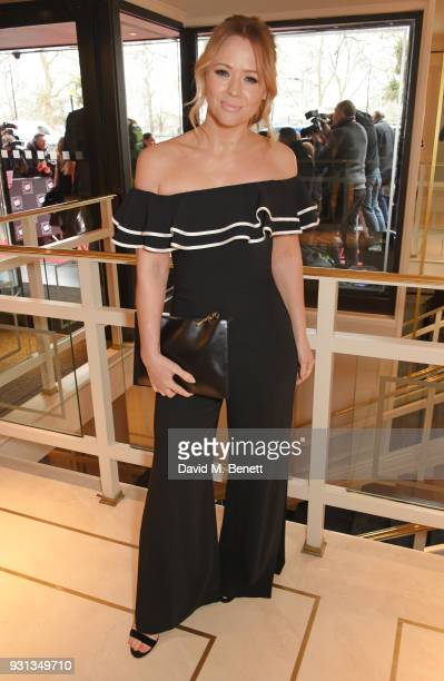 Kimberley Walsh attends the TRIC Awards 2018 held at The Grosvenor House Hotel on March 13 2018 in London England