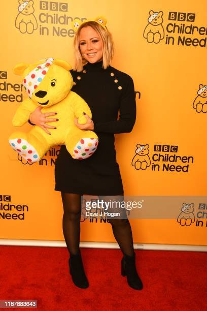 Kimberley Walsh backstage at BBC Children in Need's 2019 Appeal night at Elstree Studios on November 15, 2019 in Borehamwood, England.