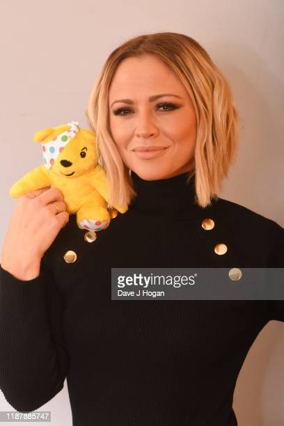 Kimberley Walsh backstage at BBC Children in Need's 2019 Appeal night at Elstree Studios on November 15 2019 in Borehamwood England