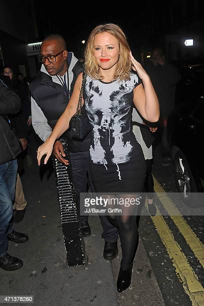 Kimberley Walsh is seen on October 08 2012 in London United Kingdom