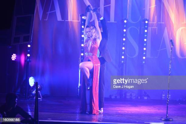 Kimberley Walsh performs at GAY on January 2 2013 in London England