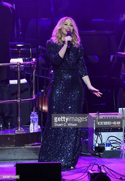 Kimberley Walsh performs at Magic Radio's Magic of the Musicals at Royal Albert Hall on May 23 2016 in London England