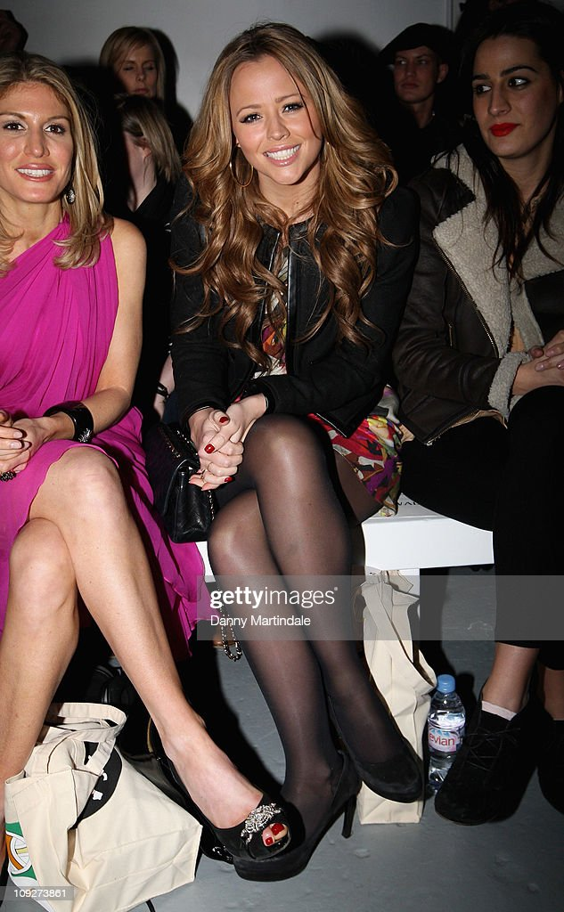 Celebrities On The Front Row at London Fashion Week Autumn/Winter 2011