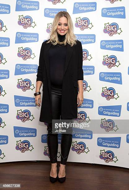 Kimberley Wyatt attends the Girlguiding Big Gig 2014 at Wembley Arena on October 4 2014 in London United Kingdom