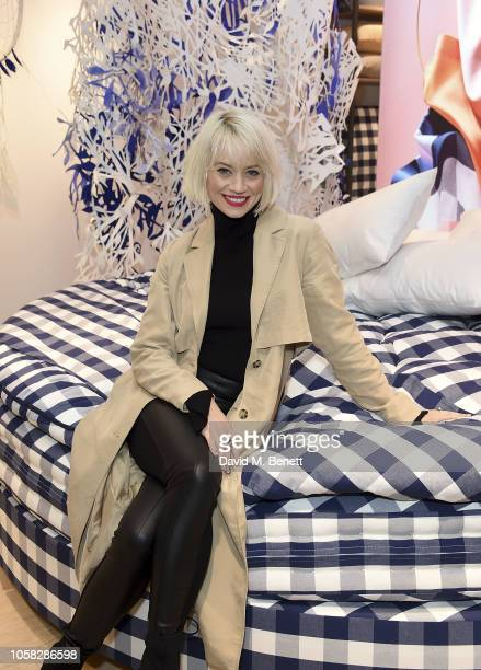 Kimberley Wyatt attends the Grand Opening of Hastens new Notting Hill showroom on November 6 2018 in London England