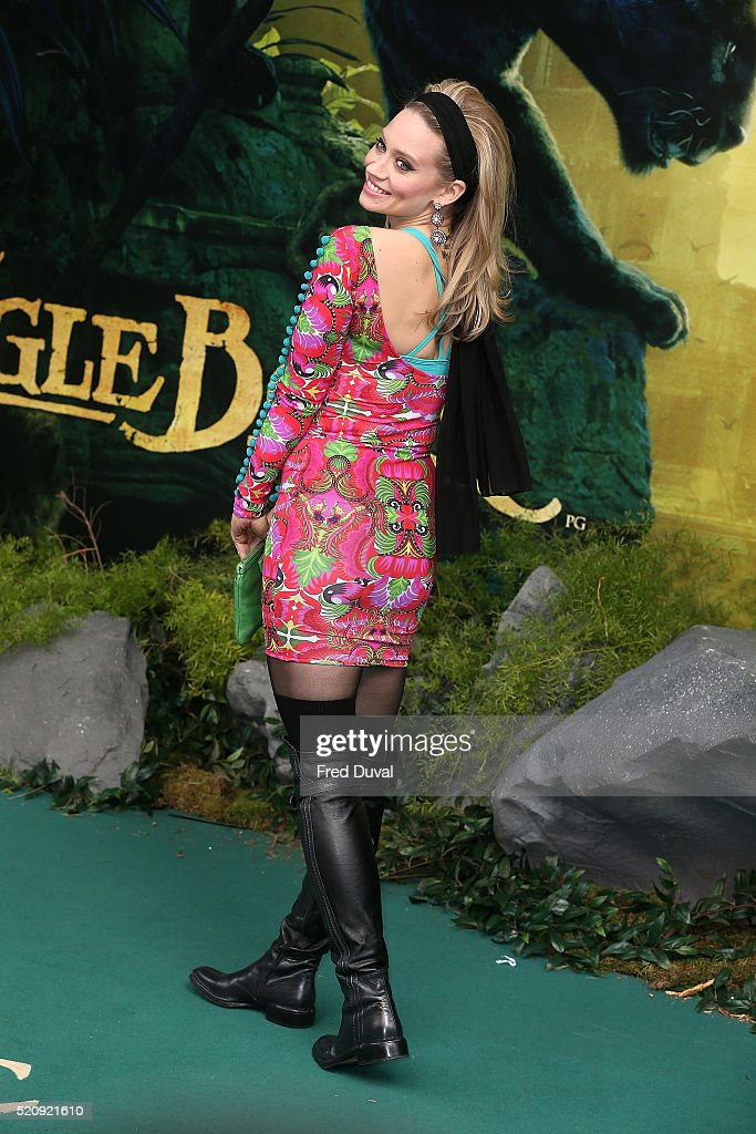 Kimberley Wyatt attends the UK Premiere of 'The Jungle Book'at BFI IMAX on April 13, 2016 in London, England.