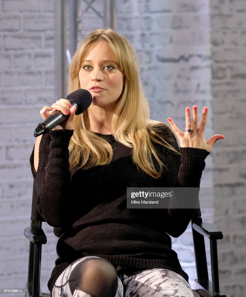 Kimberley Wyatt speaks at the Build LDN event at AOL London on May 2, 2017 in London, England.
