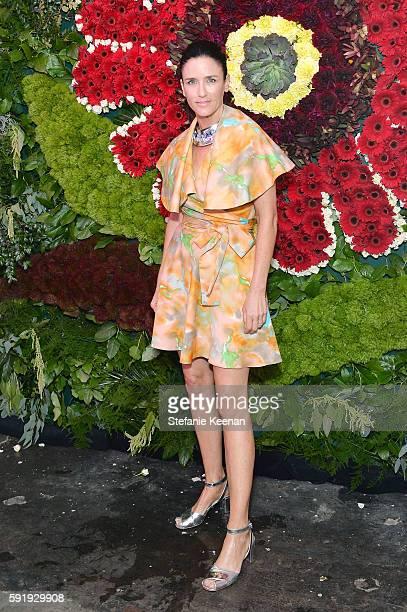 Kimberly Bini attends Just One Eye x Creatures of the Wind Collaboration Dinner at Just One Eye on August 18 2016 in Los Angeles California