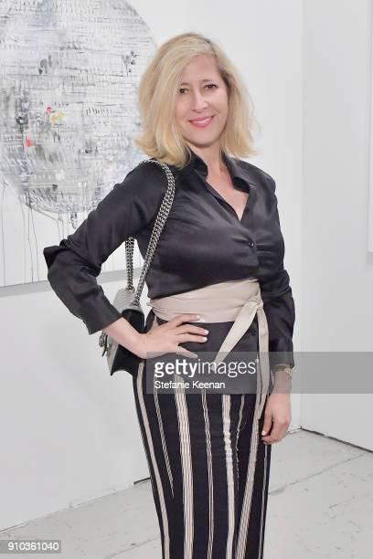 Kimberly Brooks at OPENING NIGHT   ART LOS ANGELES CONTEMPORARY 9TH EDITION at Barkar Hangar on January 25 2018 in Santa Monica California