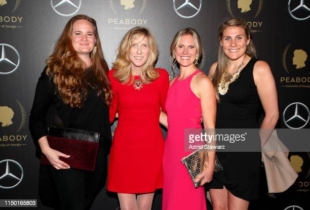Kimberly Brown Katie Walsh Maura Mandt and Rebecca Gitlitz attend the 78th Annual Peabody Awards Ceremony Sponsored By MercedesBenz at Cipriani Wall...