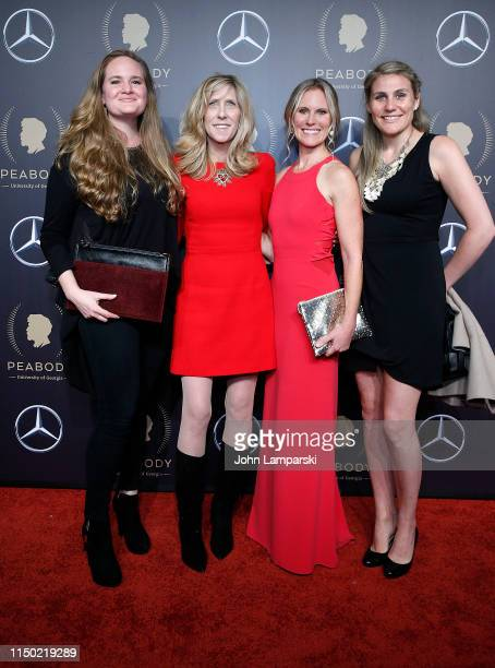 Kimberly Brown Katie Walsh Maura Mandt and Rebecca Gitlitzat attends the 78th Annual Peabody Awards at Cipriani Wall Street on May 18 2019 in New...
