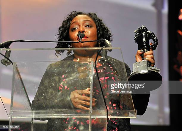 Kimberly Bryant Founder Black Girls CODE wins the Include Diversity Award at the TechCrunch 9th Annual Crunchies Awards at War Memorial Opera House...