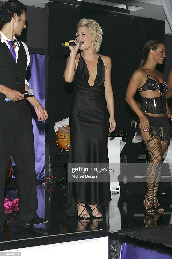 Kimberly Caldwell during Harlottique Opening - July 22, 2005 at Harlottique in Studio City, California, United States.