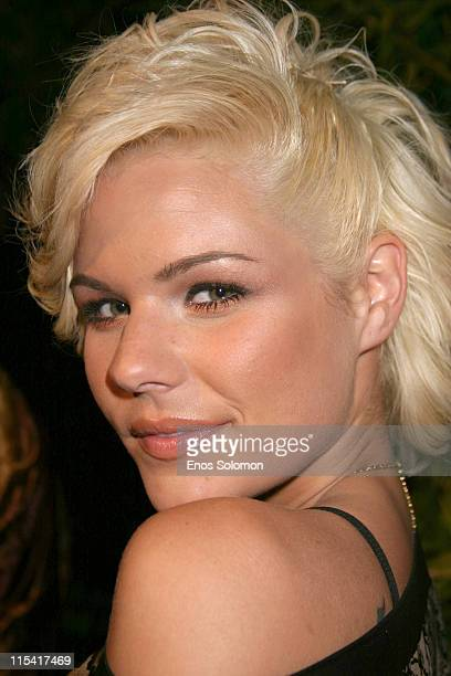 Kimberly Caldwell during Launch of 'Hollywood Covered' Magazine and Niki Shadrow's Birthday at Falcon in West Hollywood California United States