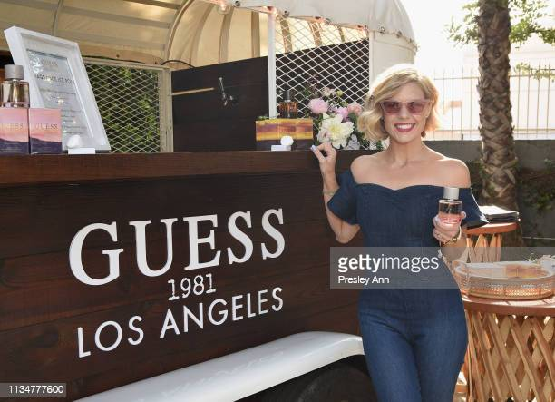 Kimberly CaldwellHarvey attends GUESS Festival Prep Event at Lombardi House on April 3 2019 in Los Angeles California