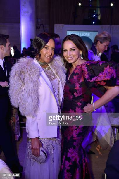 Kimberly Chandler and Moll Anderson attend 13th Annual UNICEF Snowflake Ball 2017 at Cipriani Wall Street on November 28 2017 in New York City