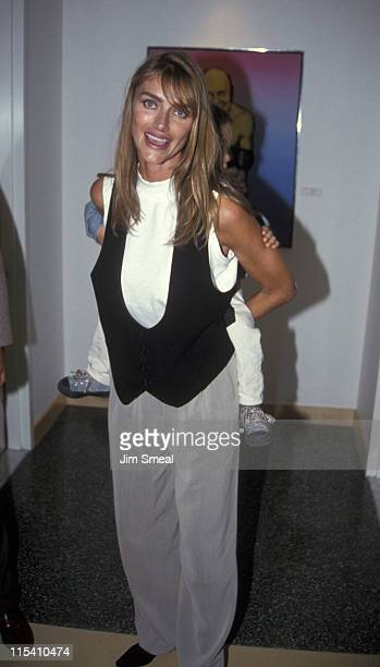 Kimberly Conrad during Christie Hefner Hosts Open House Gala for New Headquarters at Playboy Headquarters in Beverly Hills California United States