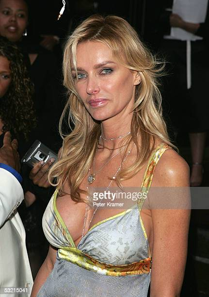 Kimberly Conrad Hefner arrives at a fundraiser for Usher's 'New Look' Foundation at Capitale July 8 2005 in New York City