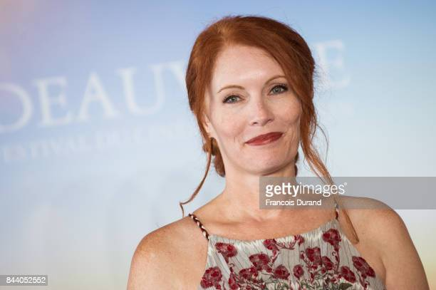 Kimberly Crandall poses at 'The Bachelors' Photocall during the 43rd Deauville American Film Festival on September 8 2017 in Deauville France