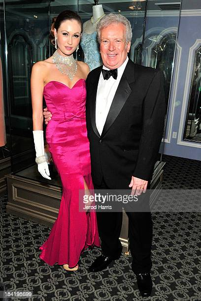 Kimberly Daniels and Princess Diana's hairstylist Richard Dalton attend Diana Legacy of A Princess Exhibition media preview day and reception at the...