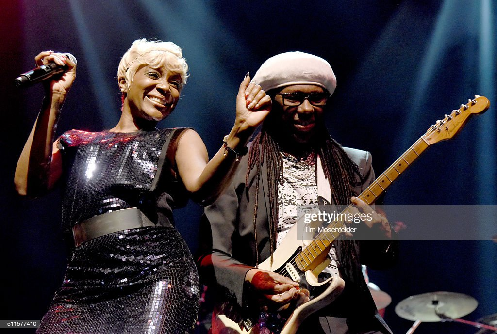 Kimberly Davis And Nile Rodgers Of Chic Featuring Nile Rodgers